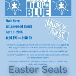 Light it Up Blue – Autism Awareness Month