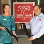 Easter Seals Receives Miracle Belts From Anonymous Donnor