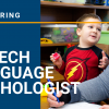 Now Hiring - Speech Language Pathologist