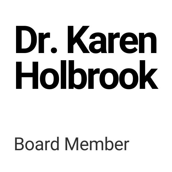 Dr. Karen Holbrook